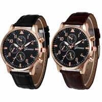 Relojes para hombre reloj de pulsera de cuarzo de aleación analógica con diseño Retro relojes para hombre relojes masculinos