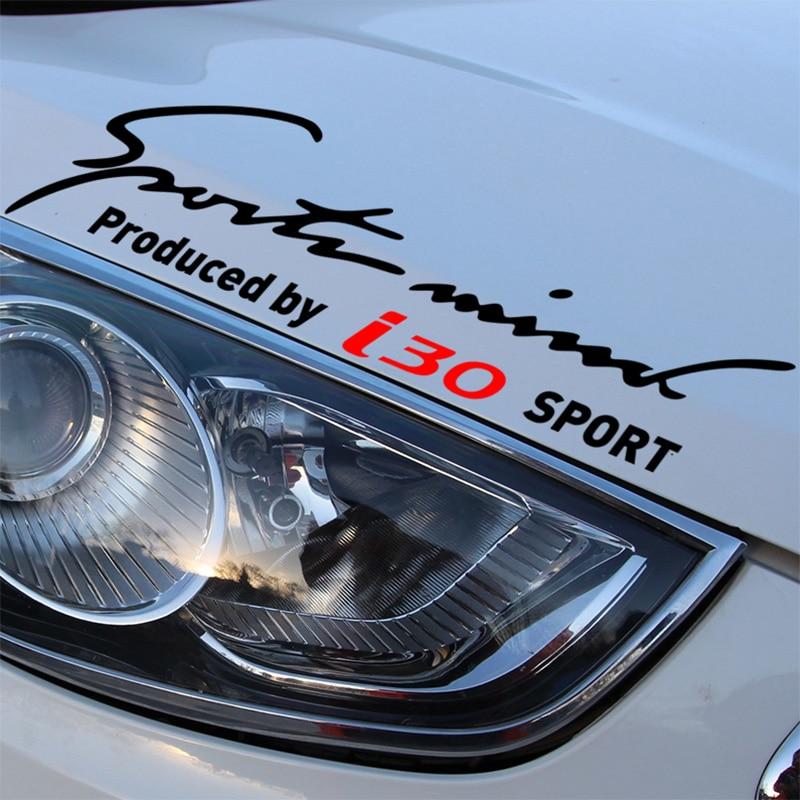 Sports Mind Car Styling On Car Lamp Eyebrow For Hyundai