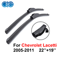 22''+19'' Wiper Blade For Chevrolet Lacetti 2005-2011,Natural Rubber Windscreen Wipers Windshield Car Accessories