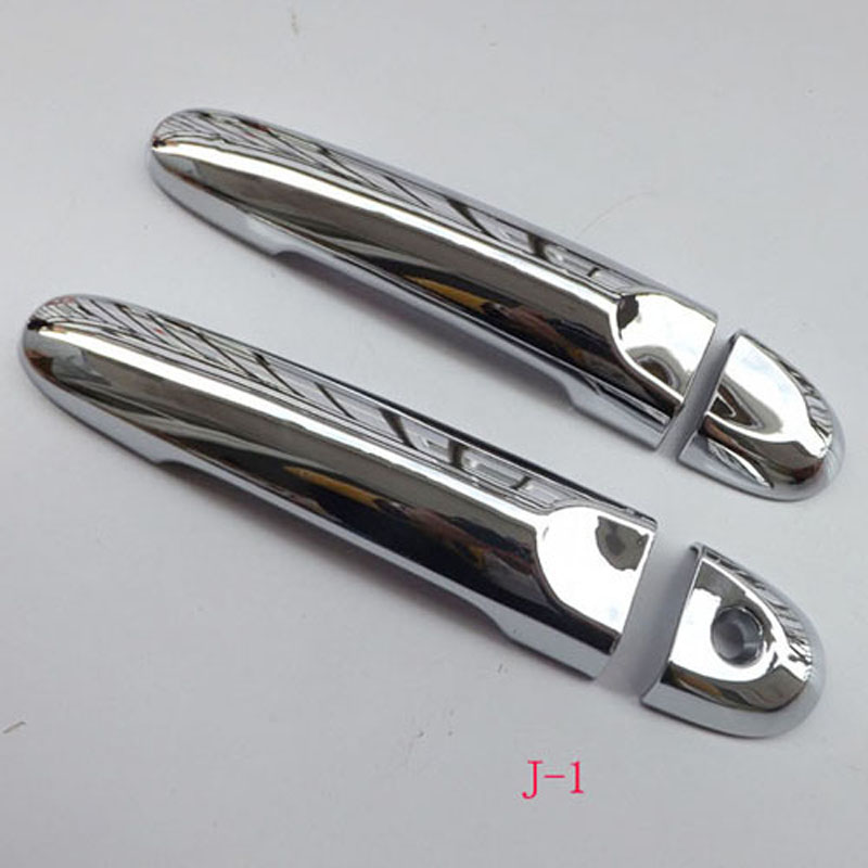 Free Shipping For Nissan Juke 2010-2015 ABS chrome Door Handle Cover Door Handle straps car accessories 4pcs