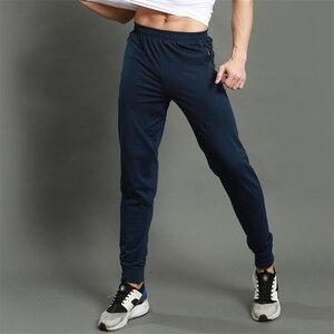 Image 4 -  Secagem rápida Execução Calças de Jogging Calças Dos Homens De Fitness Corredores Homens Formação Leggings Esportivos Sportswear Moletom Musculação Tigh