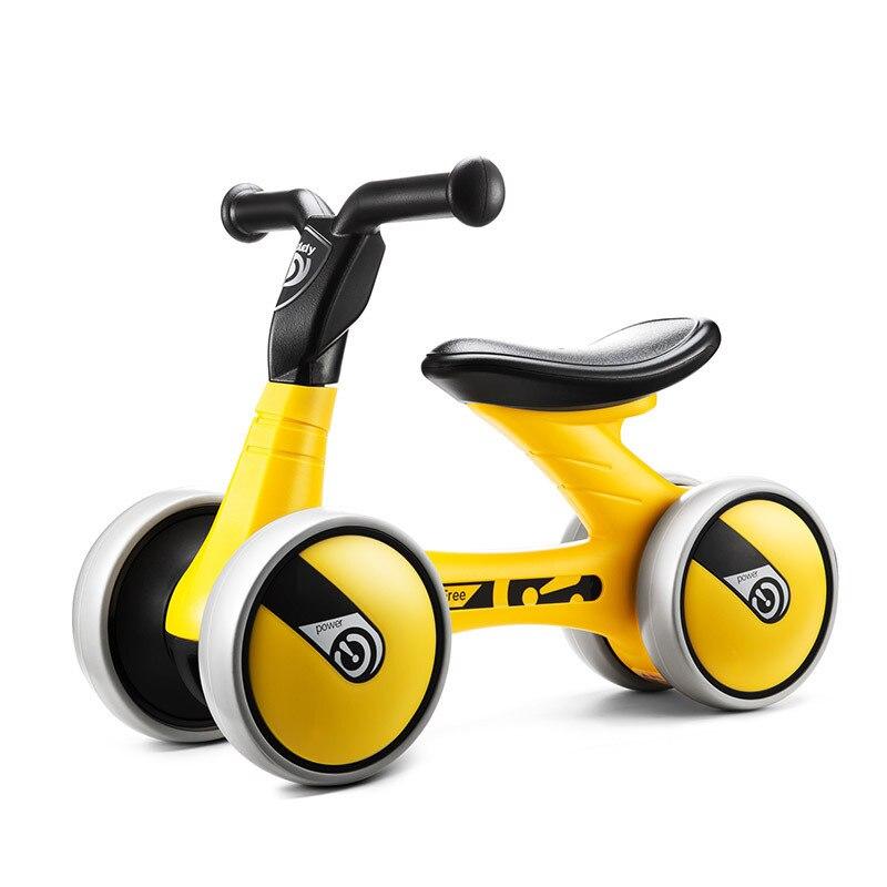 Nouveaux enfants trois roues Balance vélo Scooter bébé marcheur Portable vélo pas de pédale vélo bébé marcheur Tricycle équitation jouets