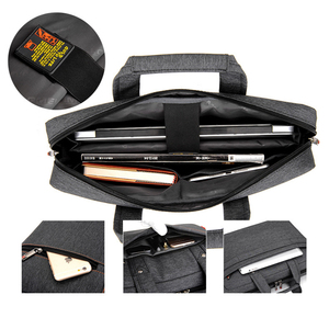 "Image 5 - กันน้ำกันกระแทกแล็ปท็อปแล็ปท็อปกระเป๋าแล็ปท็อป 17.3 15.6 15 14 13.3 13 ""หนาหรูหราไหล่แบบพกพา Messenger Men Notebook กระเป๋า"