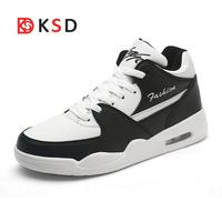2018 New Running Shoes Men Popular Sneakers Spring Summer Jogging Trendy Shoe Male White Red Walking