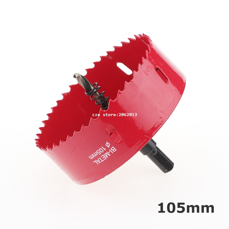 Free Shipping 105mm  Bi-Metal Wood Hole Saws Bit for Woodworking DIY Wood Cutter Drill Bit aaa balsa wood sheet ply 25 sheets 100x80x1mm model balsa wood can be used for military models etc smooth diy free shipping