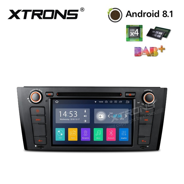 US $303 75 25% OFF|XTRONS Radio Android 8 1 Car DVD Player GPS RCA OBD DAB  WIFI for BMW E81 2007 2011 E82 2007 2013 E88 2007 2008 2009 2010 2014-in