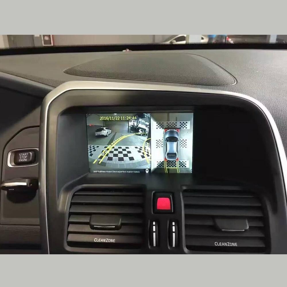 InCar High Definition 360 grad auge Ansicht Panorama Auto Kamera Für VOLVO Parkplatz 4 weg Fahren Recorder eingebaute Decoder - 3