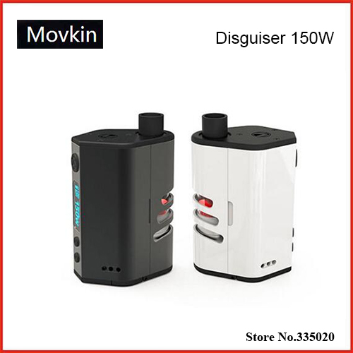 ФОТО Original Movkin Disguiser VV/VW TC 150W OLED Screen Box Mod Powered by Dual 18650 Battery Disguiser 150W TC Mod