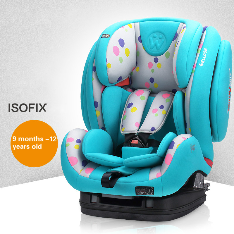 High quality comfortable safety seat chair for 9 month -12 years old child to use total quality 500g 12 years old gaoli