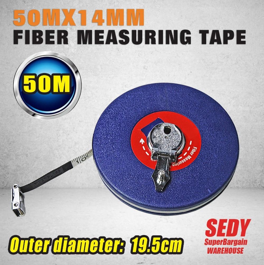 ФОТО HORUSDY 50M Fibre Measuring Tapes Fiber Soft Ruler Metric Tape Measure DIY Marking Tapes Plastic Measuring Tape