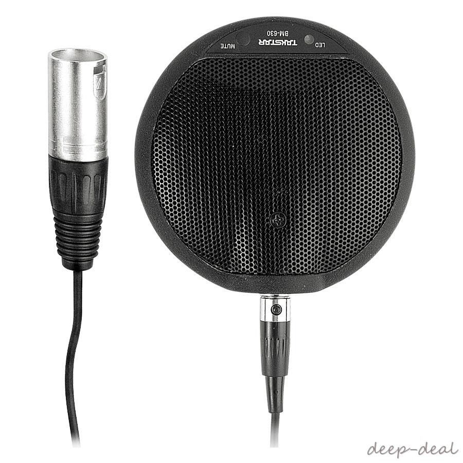 takstar BM 630 Boundary Condenser Microphone Mic for meetings, teleconferencing