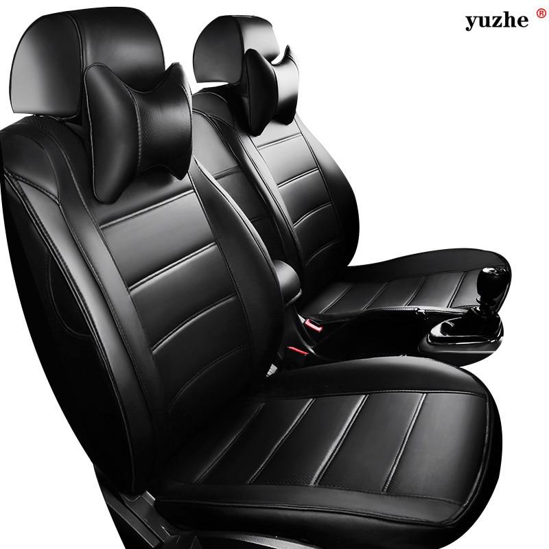 Yuzhe Leather car seat cover For BMW e30 e34 e36 e39 e46 e60 e90 f10 f30 x3 x5 x6 X1 530i 2010-2004 car accessories styling leahter key holder car styling emblem wallets shell case for bmw m 1 3 5 7 series m3 m5 x1 x3 x5 e34 e36 e38 e39 e46 e30 e92 f30