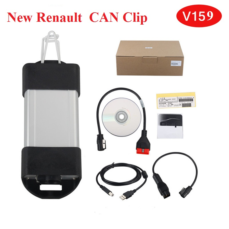 New V160 CanClip for Renaut Car Diagnostic Interface for Renault Can Clip OBD2 Diagnostic Tool Scanner free shipping