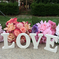 LOVE Letters Wooden Romantic Wedding Decorations Marriage Love Wedding Sign