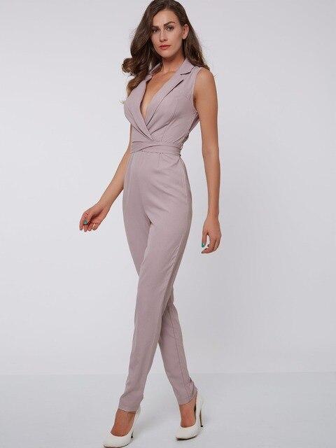 Sisjuly donne estate rosa della tuta delle donne casual figura intera rosa tuta  femminile sottile del 9321f15562e