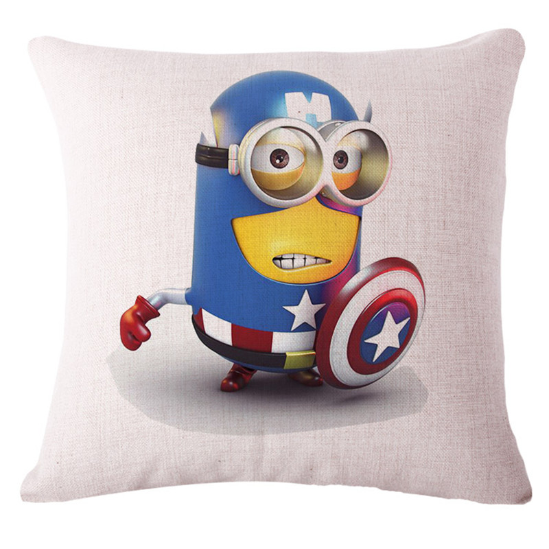 Despicable Me Minions Lovely Decorative Pillowcase