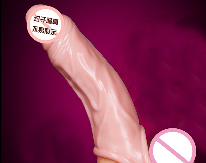 Thick Cock Girth Enhancer Enlarger Penis Extender Extension Sleeve Sheath,Silicone  Condom Extender with Cock Ring for Men -in Penis Rings from Beauty ...