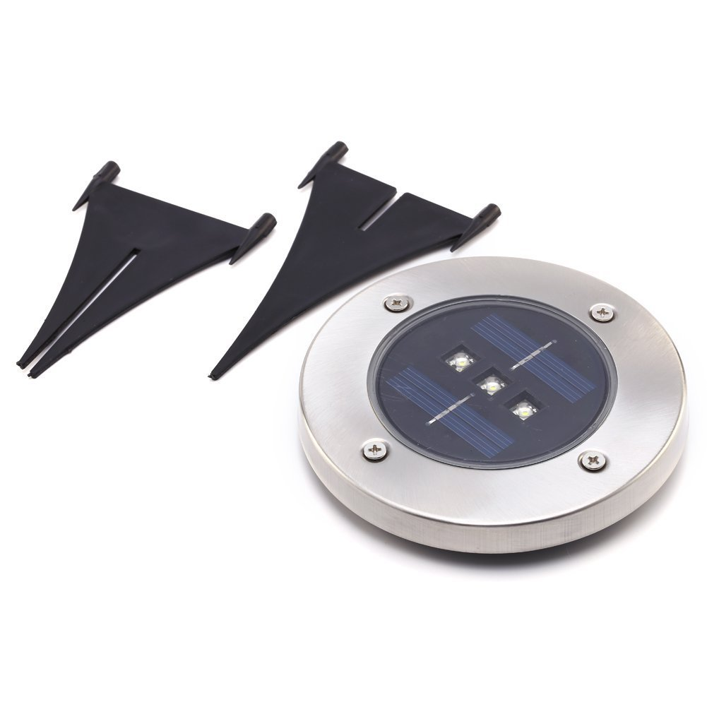Outdoor Solar Lights In Ground: TAMPROAD Solar Power Ground Lamp Outdoor Ground Light