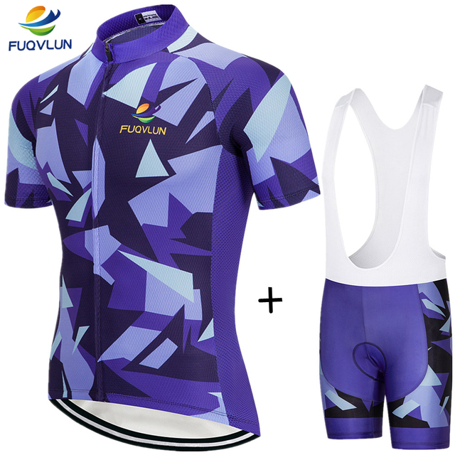2018 FUQVLUN Bicycle Wear Ropa Ciclismo/Maillot Cycling Clothing Quick-Dry bicycle jersey/MTB Bike uniform Cycling Jersey -666J