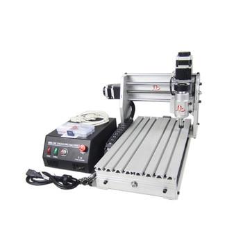 3020 T-DJ Mini milling machine 3 axis CNC router lathe wood pcb plastic working 2