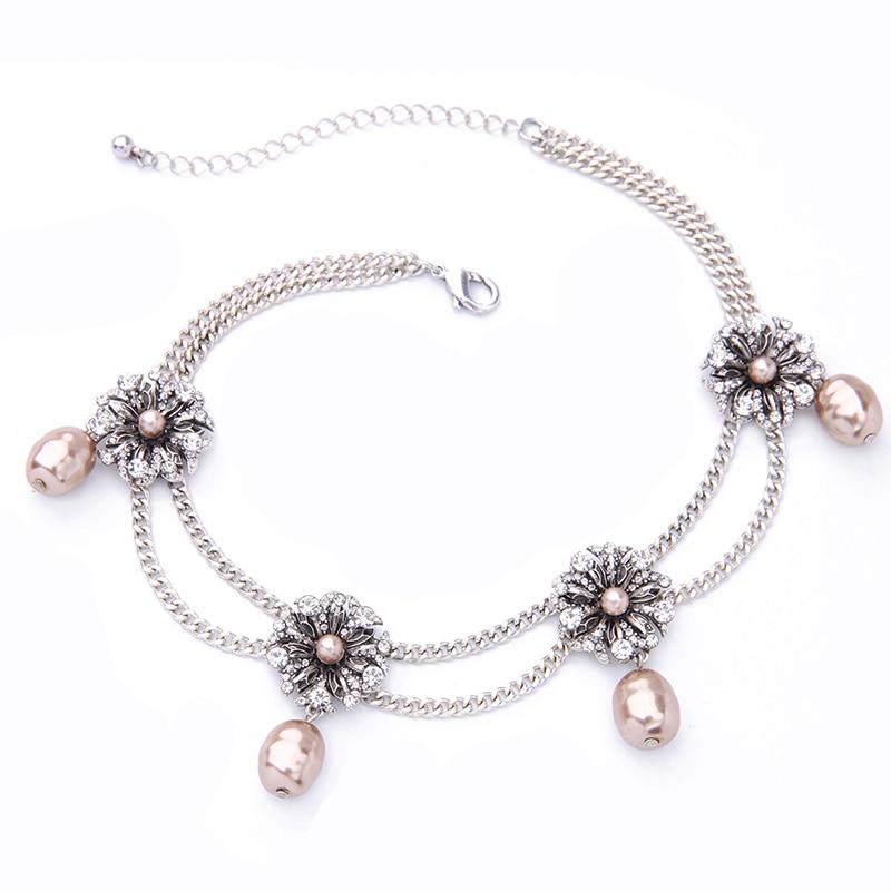 KISS ME Νέες Διπλές Αλυσίδες Crystal - Κοσμήματα μόδας - Φωτογραφία 5