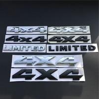 Auto Chrom Metall 4x4 Emblem Abzeichen 3D Aufkleber Stamm Auto JDM Aufkleber Auto Styling Aufkleber für Ford Fiesta kuga Ranger Galaxy Fusion-in Autoaufkleber aus Kraftfahrzeuge und Motorräder bei