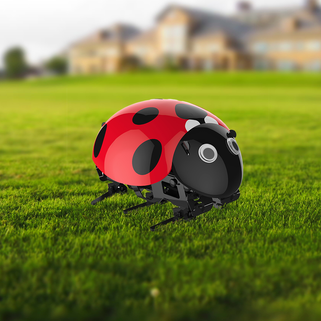 ladybug rc cars intelligent remote insect robot diy kits