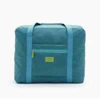 Portable Nylon Travel Totes Big Capacity Women Men Folding Bag Unisex Luggage Weekend Bag