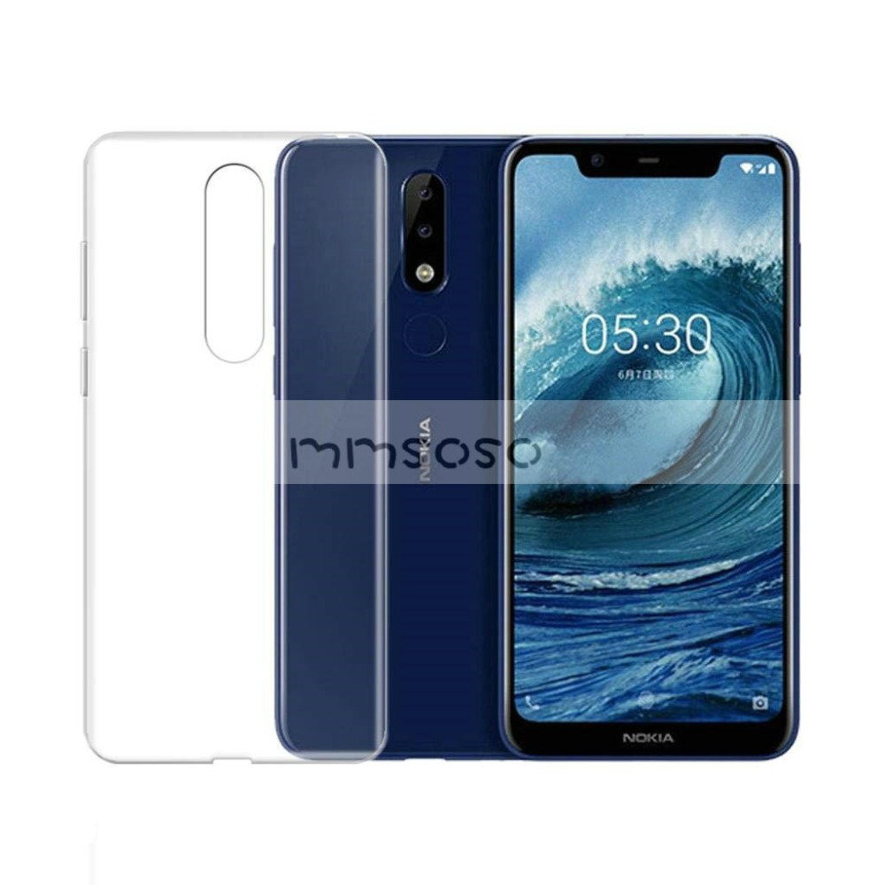 Nokia 7.1 Case Nokia 8.1 X7 Luxury Soft TPU Phone Case With Tempered glass For Nokia 8.1 TA-1119 TA-1128 Phoenix Nokia8.1 Case