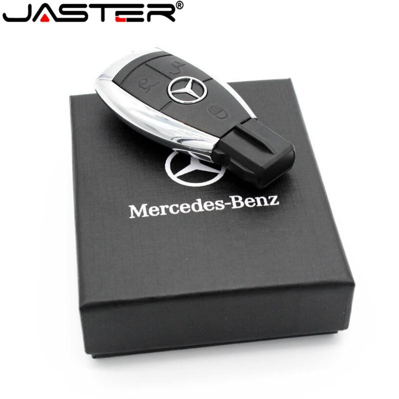 Lecteur de stylo Logo de voiture JASTER lecteur Flash USB 64gb clé de voiture Mercedes Benz clé USB 64GB 32GB 16GB 8GB clé USB