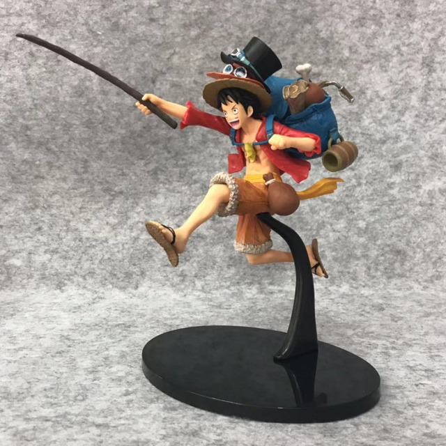 One Piece Monkey D. Luffy con Mochila Figura de Acción