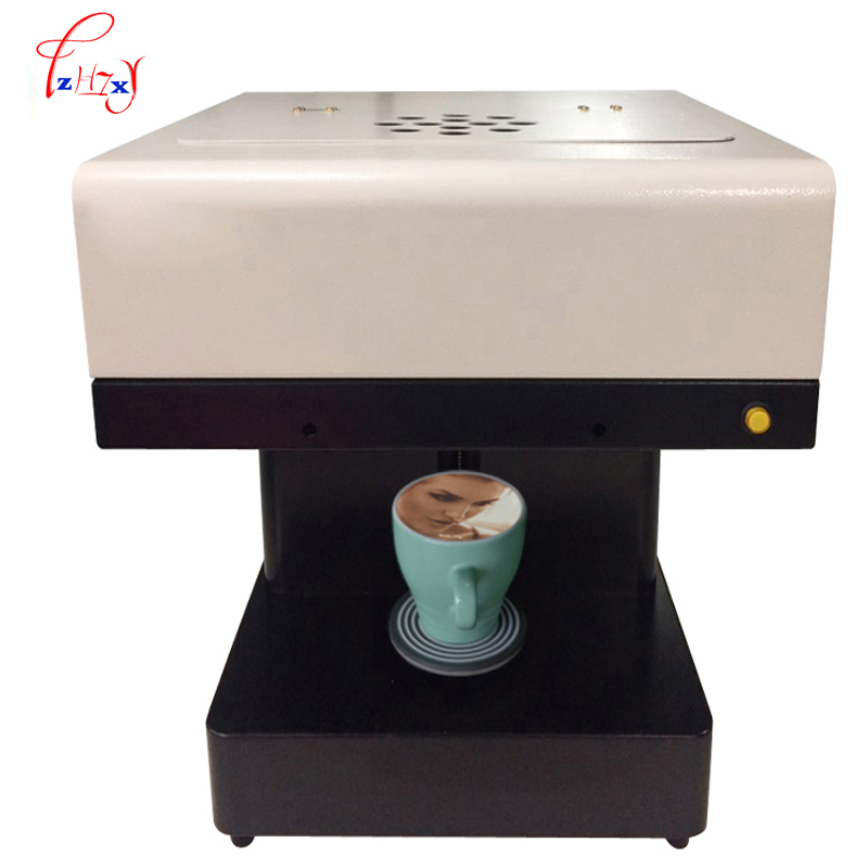 Commercial automatic Coffee pull flower machine food  Caffee Maker  milk tea cake pastry pull flower machine 1pc fast food leisure fast food equipment stainless steel gas fryer 3l spanish churro maker machine