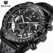 BENYAR Mens Watches Quartz Watch Sports Watch Men Chronograph Military
