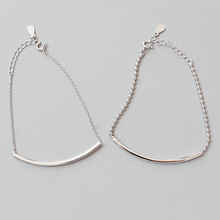 HFYK 925 Sterling Silver Bangle Bracelet 2019 Chain Round Beads Bracelets For Women pulseras mujer bracelet femme pulseira