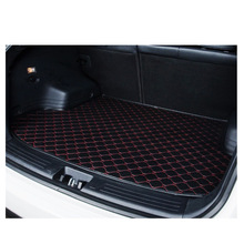 car trunk mat leather cushion pad cargo liner suitcase for Alfa Romeo Boxster Cayenne cayman Bentley Arnage Flying Spur GT