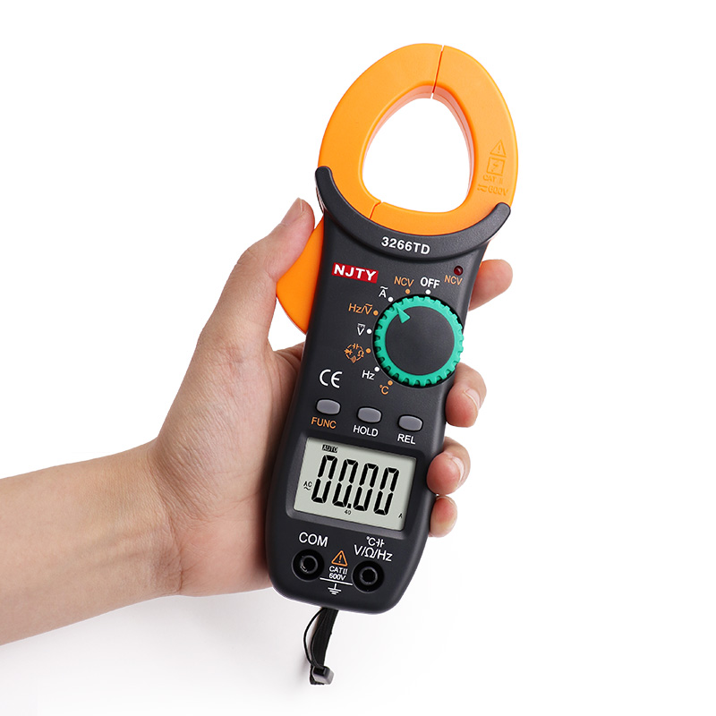 UNI-T UT202 LCD Multimetro Digitale Volt Meter//Circuito Tester Voltmetro Amperometro Meter DC AC Tensione Resistenza Corrente