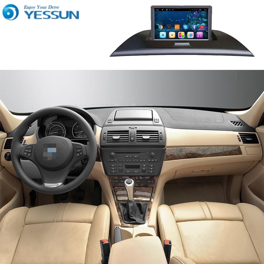 Для BMW X3 E83 2004 ~ 2009 Автомобильный Android Media Player Системы Радио Стерео gps навигации мультимедиа аудио видео
