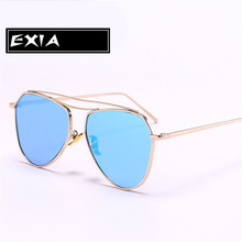 85903d2e0260 Plano Sunglasses for Women Fashion Popular Trency EXIA OPTICAL KD-0737  Series(China)
