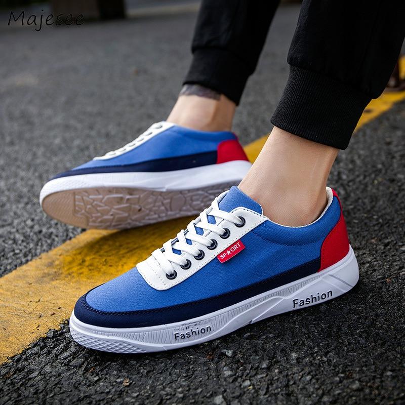 9e4475f5 Cheap Los hombres de vulcanizar Zapatos de lona clásico de moda transpirable  antideslizante calzado de ocio