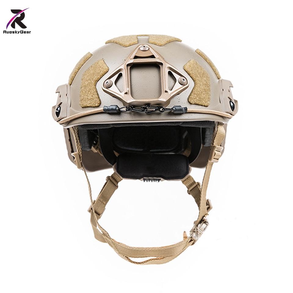 Airsoftsports Tactical SF SUPER HIGH CUT HELMET Hunting Helmet TB1315 Protective M L