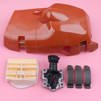 Top Cylinder Cover Shroud For Husqvarna 445 450 450E Clip Buckles Air Filter Intake Manifold Chainsaw Replacement Spare Part