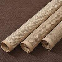 Sisal carpet living room coffee table mat bedroom full linen rug home study hand woven straw carpet Carpet     -