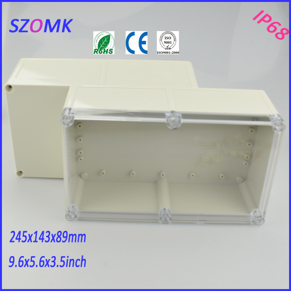 brand box junction box (4 pcs)245*143*89mm project case electronics enclosure box electronics project box instrument enclosure itap 143 2 редуктор давления