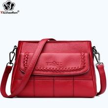 Fashion Weaving Shoulder Bag Female Brand Leather Luxury Handbag Simple Thread Crossbody Bags for Women Designer Clutch Bag