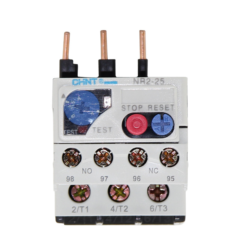 CHNT NR2-25/Z  1.6A-2.5A Thermal overload relay  CJX2 thermal relay thermal overload relay tk 0n 0 95 1 45a