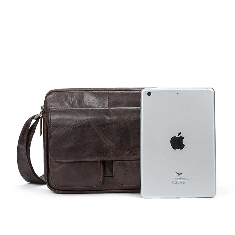 WESTAL Messenger bag Men's Shoulder Bags Genuine Leather male shoulder bag for men's leather handbag crossbody bags for men 8931