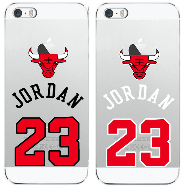 NBA Chicago Micheal Jordan 23 Jumpman Soft Phone Case Cover Coque Fundas For iphone 7Plus 7 6 6S 6Plus SE 5 5S 5C 4 4S SAMSUNG