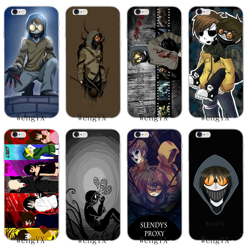 US $1 99 |Cool Creepypasta Ticci Toby Slim silicone Soft phone case For  Samsung Galaxy J1 J2 J3 J5 J7 A3 A5 A7 2015 2016 2017-in Half-wrapped Case