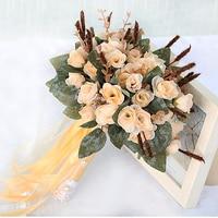 Vintage Wedding Flowers Bridal Bouquets Bouquet de mariage Unique New Arrival Elegant Bruidsboeket Wedding Accessories Retro