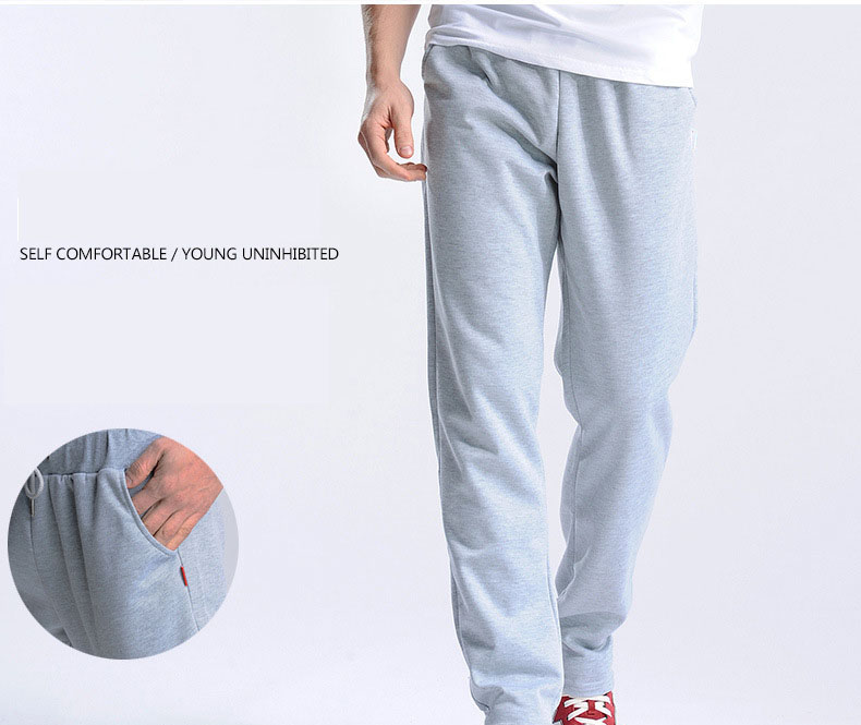 FALIZA New Men's Pants Velvet Thick Joggers Fleece Men Straight Pants Winter Warm Velvet Sweatpants Men Joggers Casual Pants CKD 9